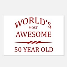 World's Most Awesome 50 Year Old Postcards (Packag