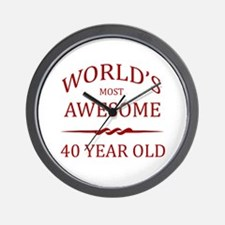 World's Most Awesome 40 Year Old Wall Clock