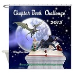 Chapter Book Challenge 2013 Shower Curtain