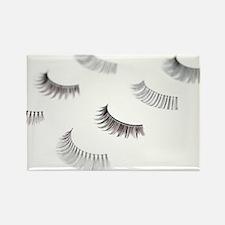 False eyelashes - Rectangle Magnet (10 pk)