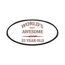 World's Most Awesome 35 Year Old Patches