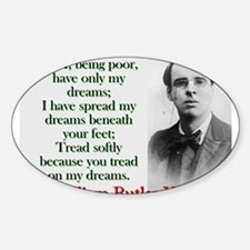 But I Being Poor Have Only My Dreams - Yeats Stick