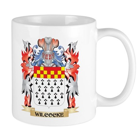 Wilcocke Coat of Arms - Family Crest Mugs