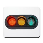 Obey Traffic Signals Mousepad