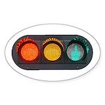 Obey Traffic Signals Sticker