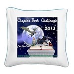 Chapter Book Challenge 2013 Square Canvas Pillo