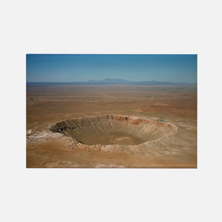 Meteor crater, Arizona - Rectangle Magnet (10 pk)