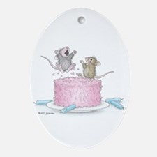 Exciting Celebration Ornament (Oval)