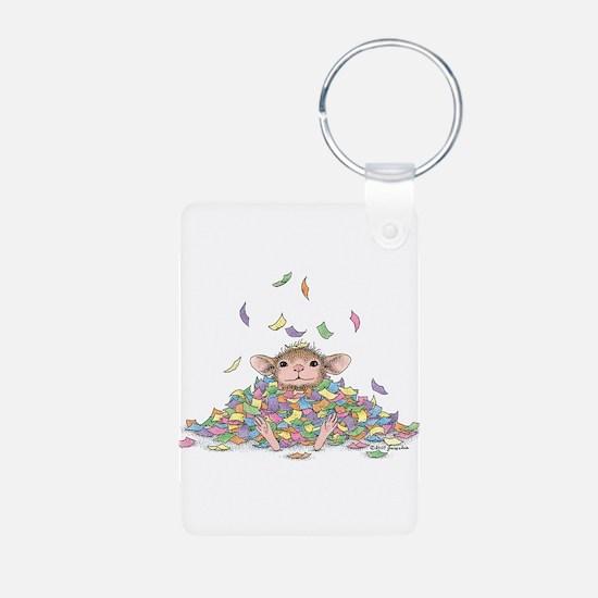 Raining Confetti Keychains