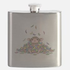 Raining Confetti Flask