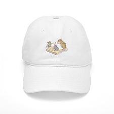 Mice Penmanship Baseball Baseball Cap