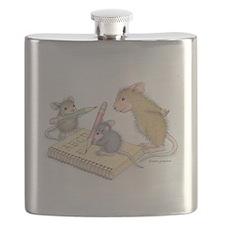 Mice Penmanship Flask