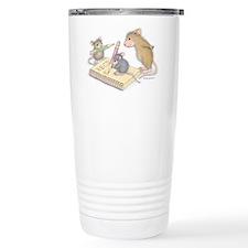 Mice Penmanship Travel Mug