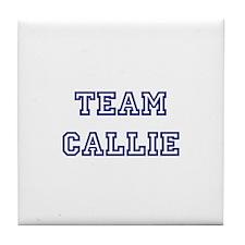 Team Callie Tile Coaster