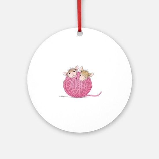 Close Knit Friendship Ornament (Round)