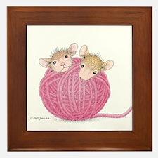 Close Knit Friendship Framed Tile
