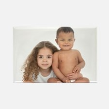 Brother and sister - Rectangle Magnet (10 pk)
