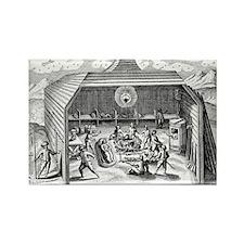 pedition, 1596 - Rectangle Magnet (10 pk)