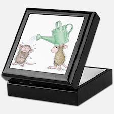 Tin Can Showering Keepsake Box