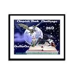 Chapter Book Challenge 2013 Framed Panel Print