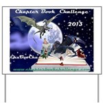 Chapter Book Challenge 2013 Yard Sign