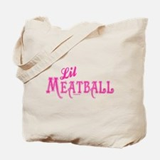 Lil Meatball Tote Bag