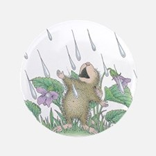 "Singing in the Rain 3.5"" Button"