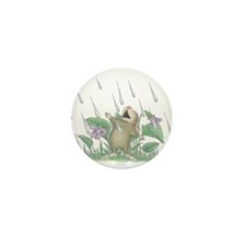 Singing in the Rain Mini Button (10 pack)