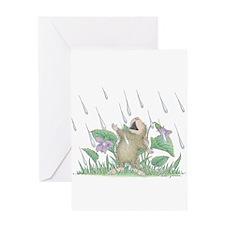 Singing in the Rain Greeting Card
