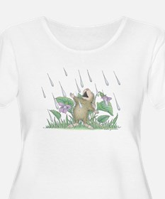 Singing in the Rain Plus Size T-Shirt