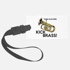 Tuba Players Kick Brass Luggage Tag