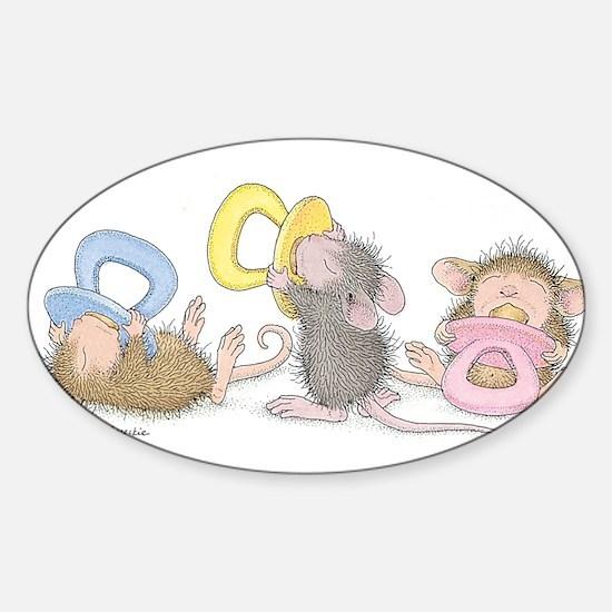 Mice Babies Decal