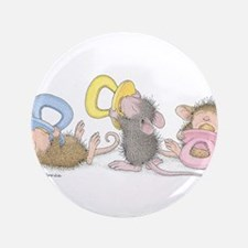 """Mice Babies 3.5"""" Button (100 pack)"""