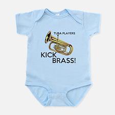 Tuba Players Kick Brass Body Suit