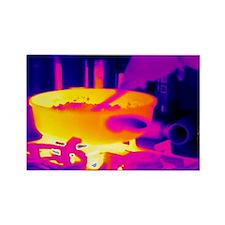thermogram - Rectangle Magnet (10 pk)