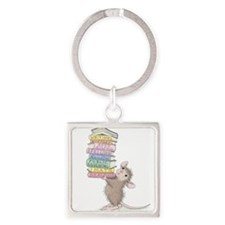 Smarty Pants Square Keychain