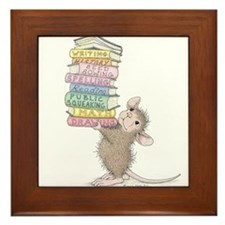 Smarty Pants Framed Tile