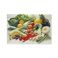 Fruits and vegetables - Rectangle Magnet (10 pk)
