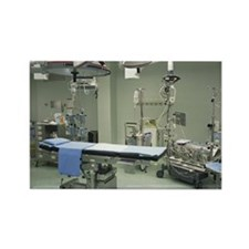 Operating theatre - Rectangle Magnet (10 pk)