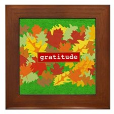 Gratitude Framed Tile