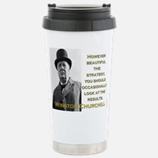 However Beautiful The Strategy - Churchill Mugs