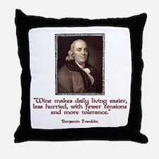 Franklin Throw Pillow