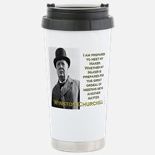 I Am Prepared To Meet My Maker - Churchill Mugs