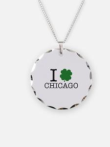 I Shamrock Chicago Necklace