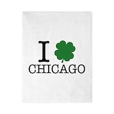 I Shamrock Chicago Twin Duvet