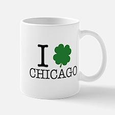 I Shamrock Chicago Mug