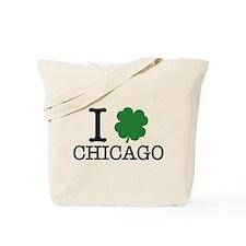 I Shamrock Chicago Tote Bag