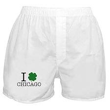 I Shamrock Chicago Boxer Shorts