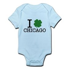 I Shamrock Chicago Infant Bodysuit