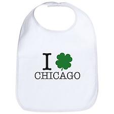 I Shamrock Chicago Bib